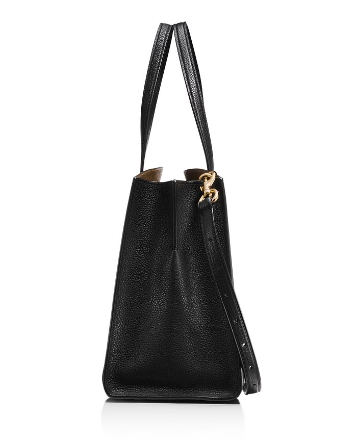 dccb718d3d COACH - Polished Pebble Leather Charlie Carryall