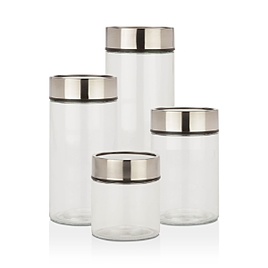 Honey Can Do Date Dial Jar, Set of 4