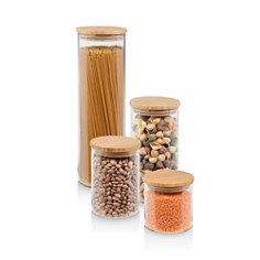 Honey Can Do - Bamboo Jar Storage, Set of 4