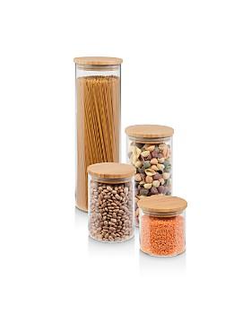 Honey Can Do - Bamboo Jar Storage, Set of 4