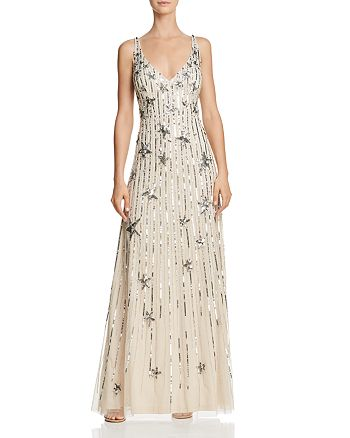 Aidan Mattox - Embellished Gown - 100% Exclusive