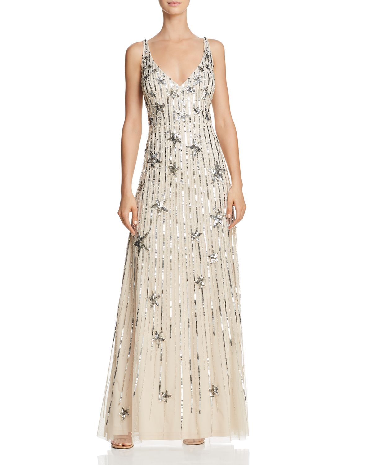 Embellished Gown   100 Percents Exclusive by Aidan Mattox