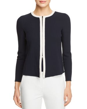 CONTRAST TRIM JACKET