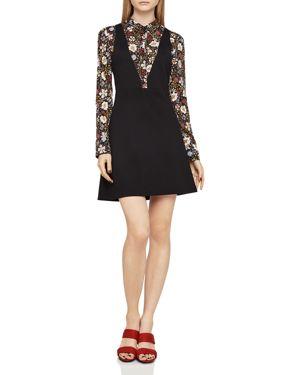 BCBGeneration Layered-Look A-Line Dress