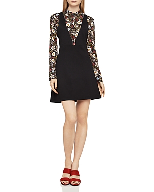 BCBGeneration Layered-Look A-Line Dress
