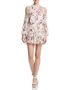 MISA Los Angeles - Farren Cold-Shoulder Dress
