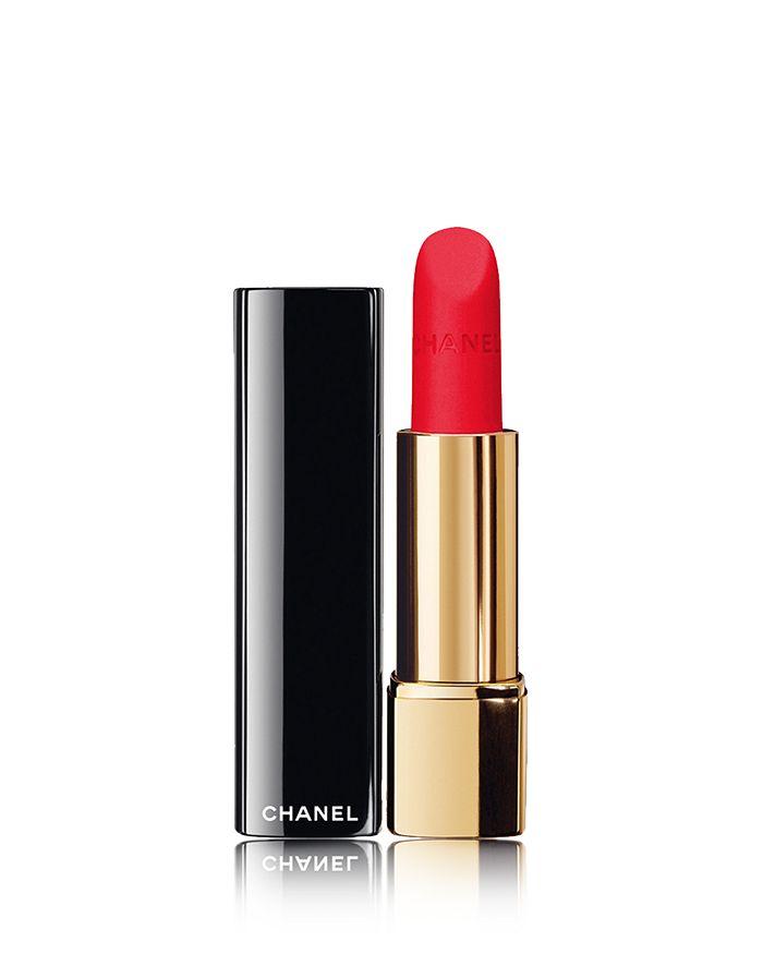 CHANEL - ROUGE ALLURE VELVET Luminous Matte Lip Colour, Spring-Summer Makeup Collection 2018