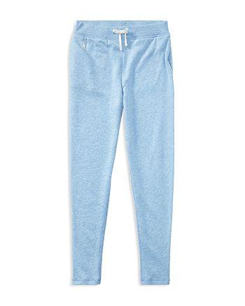 Ralph Lauren - Girls' Lightweight Fleece Sweatpants - Big Kid