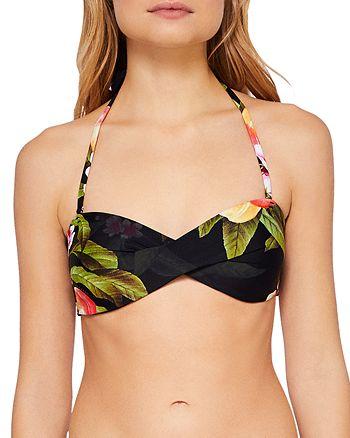 Ted Baker - Twinzii Peach Blossom Bandeau Bikini Top