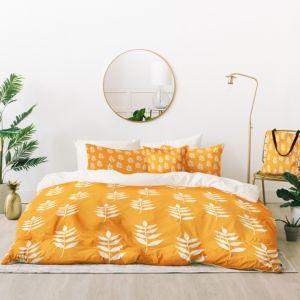 Deny Designs Joy Laforme Summer Garden Mini Leaf Bed-in-a-Bag, Queen thumbnail