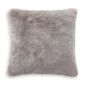"Waterford - Florence Faux Fur Decorative Pillow, 16"" x 16"""