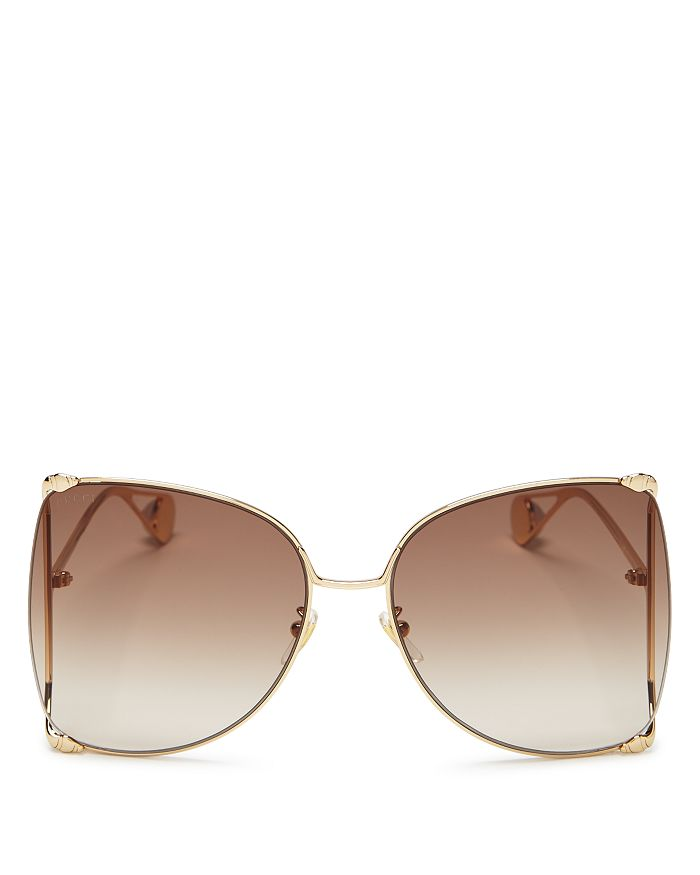 71aaf39bf3 Gucci - Women s Oversized Fork Butterfly Sunglasses