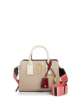MARC JACOBS - Little Big Shot Leather Satchel