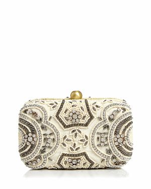 FROM ST XAVIER ZOEY BEADED CLUTCH