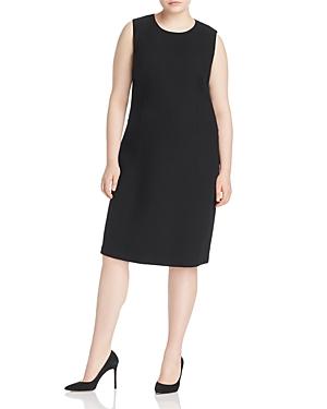 Lafayette 148 New York Plus Selitta Wool Shift Dress
