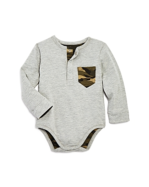 Bardot Junior Boys' Reversible Camo Long-Sleeve Bodysuit - Baby