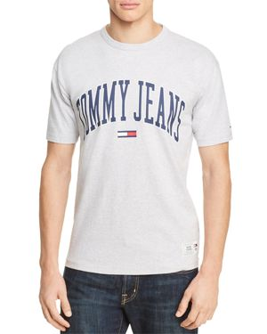 Tommy Hilfiger Tommy Jeans Collegiate Logo Short Sleeve Tee 2812161