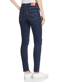 Levi's - 721 High Rise Skinny Jeans in Rough Day