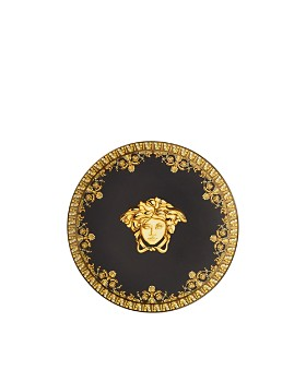 Versace By Rosenthal - I Love Baroque Nero Plate