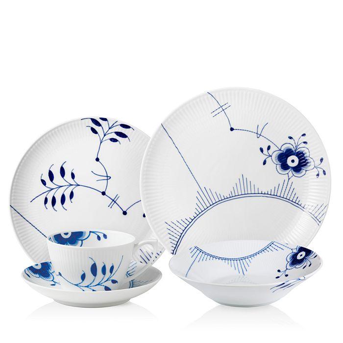 Royal Copenhagen - Blue Fluted Mega Dinnerware