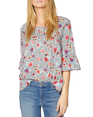 Sanctuary Joy Bell-Sleeve Top