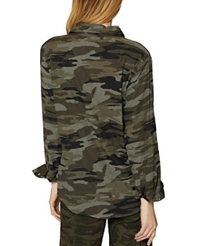 Sanctuary - Steady Camo Boyfriend Shirt