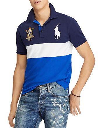 dacba8ff3 Polo Ralph Lauren Custom Slim Fit Mesh Polo Shirt | Bloomingdale's