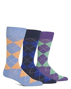 Polo Ralph Lauren Argyle Socks, Pack of 3 - Bloomingdale's_0