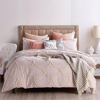 Peri Home - Chenille Scallop Comforter Set, Twin