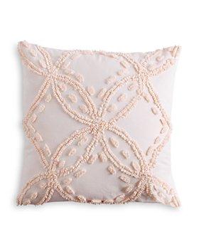 """Peri Home - Metallic Chenille Decorative Pillow, 18"""" x 18"""""""