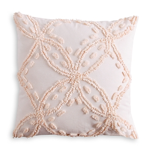 Peri Home Metallic Chenille Decorative Pillow, 18 x 18