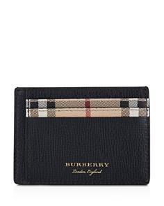 Burberry Haymarket Check Sandon Card Case - Bloomingdale's_0