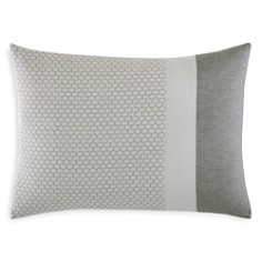 """Vera Wang Honeycomb Embroidered Decorative Pillow, 15"""" x 20"""" - Bloomingdale's_0"""