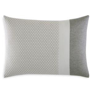 Vera Wang Honeycomb Embroidered Decorative Pillow, 15 x 20