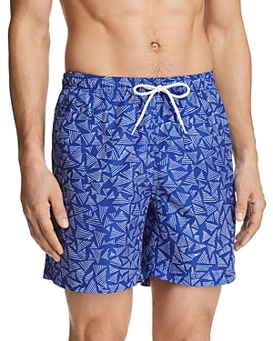 Trunks Surf & Swim Co. Triangle Print San-o Shorts