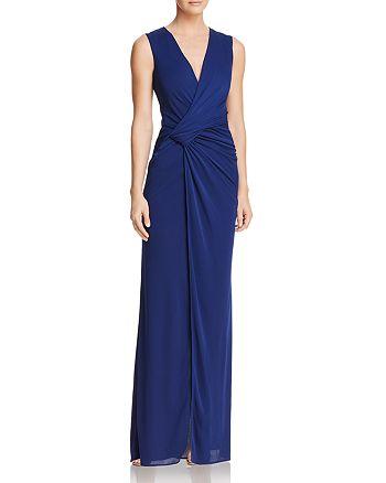BCBGMAXAZRIA - Twist-Front Gown