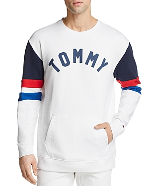 Tommy Hilfiger  COLOR-BLOCKED CREWNECK SWEATSHIRT
