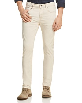 7 For All Mankind - Adrien Tapered Fit Jeans in White Onyx - 100% Exclusive