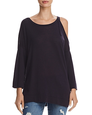 French Connection Single Cold-Shoulder Sweater