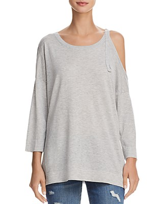 FRENCH CONNECTION Single Cold-Shoulder Sweater | Bloomingdale\'s