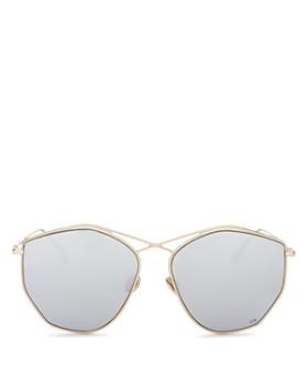 Dior - Women's Stellaire 4 Mirrored Geometric Sunglasses, 59mm