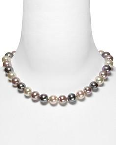 "Majorica Multi Simulated Pearl Necklace, 17"" - Bloomingdale's_0"