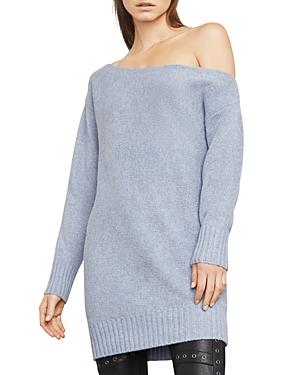 Bcbgmaxazria  ALAYNA ONE-SHOULDER TUNIC SWEATER DRESS