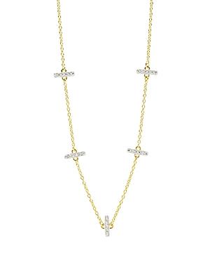 Freida Rothman Radiance Station Necklace, 16-Jewelry & Accessories