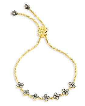 Freida Rothman - Clover Slider Bracelet