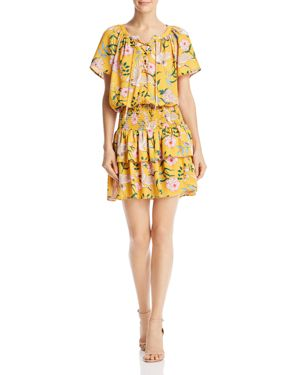 BELTAINE PRINTED BLOUSON DRESS - 100% EXCLUSIVE
