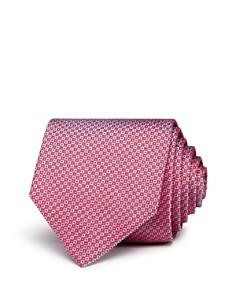 HUGO Micro-Square Silk Skinny Tie - Bloomingdale's_0