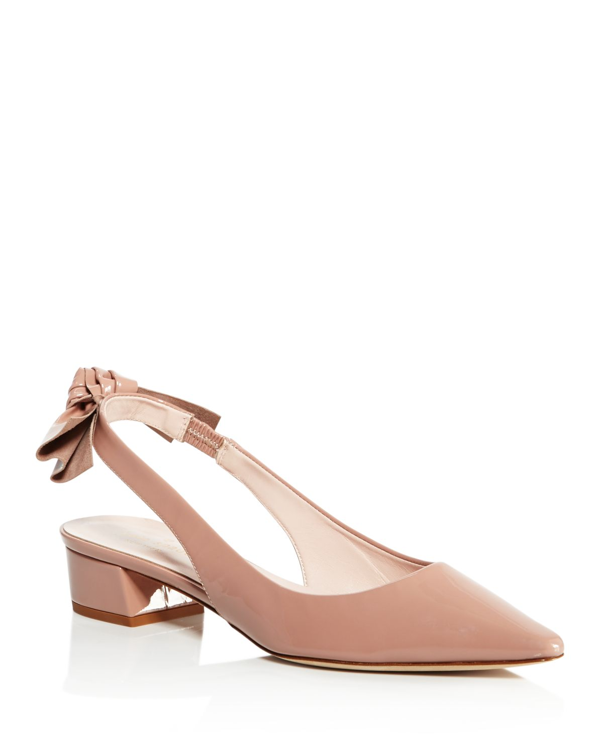 Kate Spade New York Patent Leather Slingback Pumps