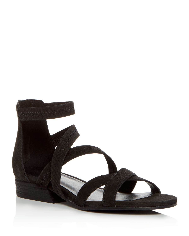 Eileen Fisher Women's Eva Nubuck Leather Crisscross Sandals