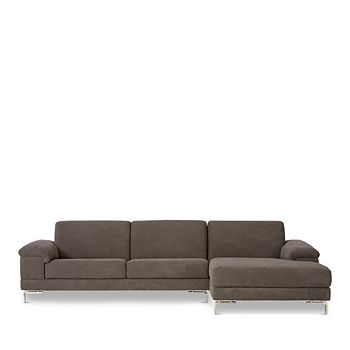 Nicoletti - Dorian 2-Piece Sectional - Right Facing Chaise - 100% Exclusive